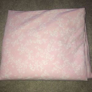 Simply Shabby Chic  Queen Flat Sheet Floral PINK